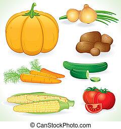 vechetables, récolte