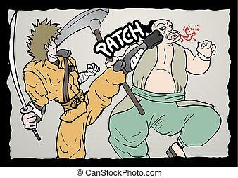 vecht, vignet