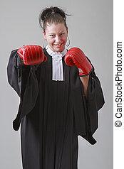 vechter, advocaat