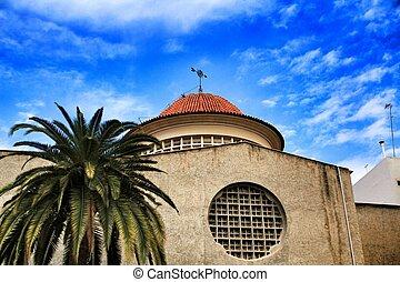vecindad, juan, san, fachada, raval, iglesia