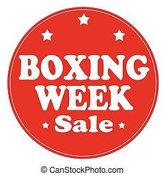vecka, boxning