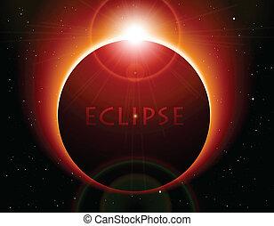 vecteur, éclipse