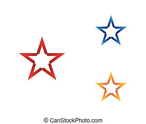 vecteur, étoile, icône