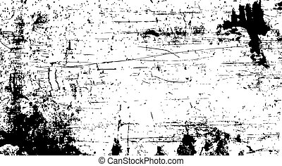 vecteur, affligé, rouille, voile de surface
