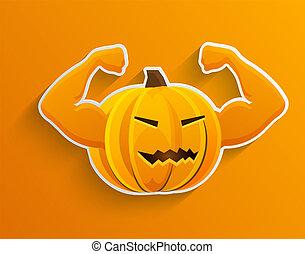 vecteur, arrière-plan., concept, halloween, eps10