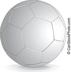 vecteur, boule football