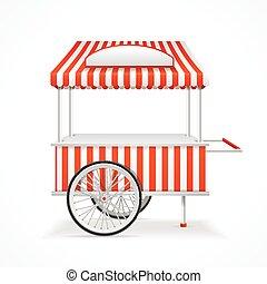 vecteur, cart., marché