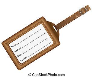 vecteur, carte identification