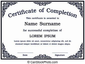 vecteur, certificat