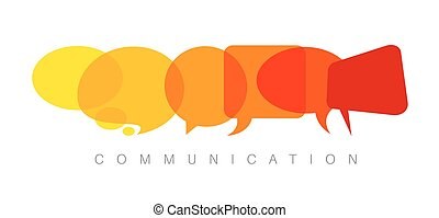 vecteur, communication, concept abstrait, illustration