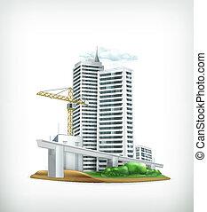 vecteur, construction