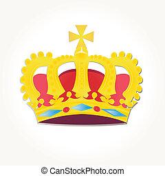 vecteur, couronnes