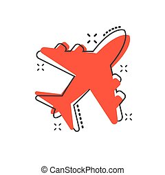 Avion dessin anim ic ne - Dessin avion stylise ...