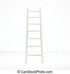 vecteur, escalier, wall.