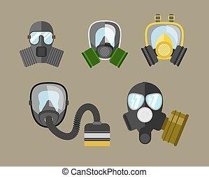 vecteur, essence, ensemble, masque