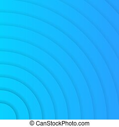 vecteur, fond, cercles, bleu