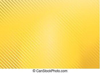 vecteur, fond, jaune, modèle, raie