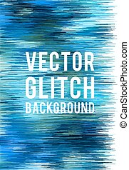 vecteur, glitch, fond