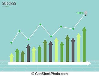 vecteur, graph., illustration., business