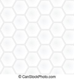 vecteur, gris, graphique, simple, lumière, moderne, -, seamless, texture., polygonal, carrée, arrière-plan noir, modèle, blanc, géométrique, rayon miel