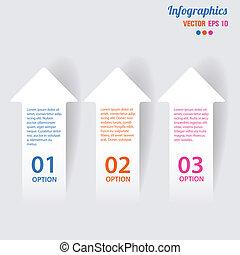 vecteur, illustration, éléments, infographics