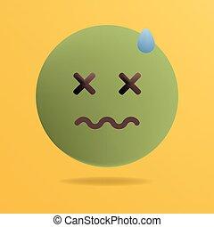 """Résultat de recherche d'images pour """"emoji écoeuré petite taille"""""""