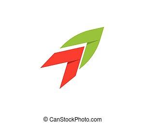 vecteur, illustration, finance, concept affaires, logo, -