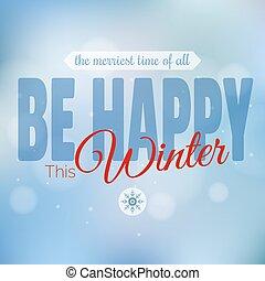 vecteur, joyeux, année, nouveau, noël carte, heureux