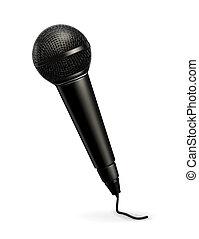 vecteur, microphone