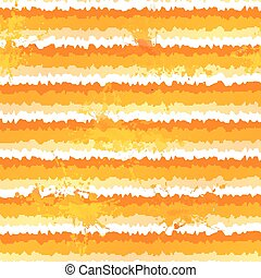 vecteur, modèle, seamless, peinture eclabousse, orange