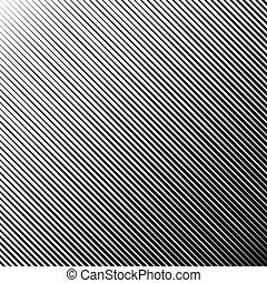 vecteur, noir, diagonal, résumé, rayé, illustration, arrière-plan.