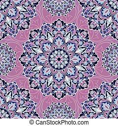 vecteur, pattern., lilas