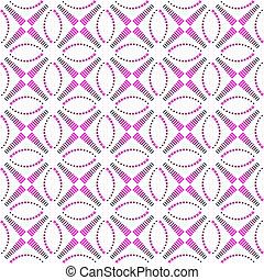 vecteur, pattern., seamless, art.