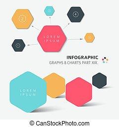 vecteur, plat, conception, infographic, éléments