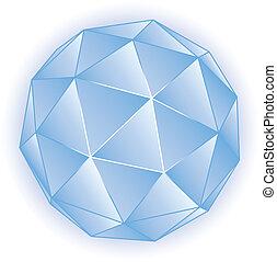 vecteur, polyèdre