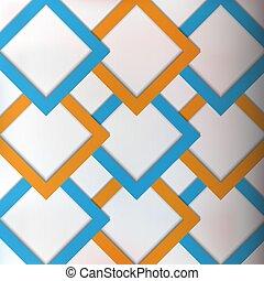 vecteur, résumé, moderne, géométrique, fond