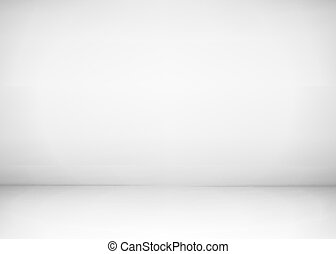 vecteur, salle, plancher, mur, atelier, photographie, illustration, arrière-plan., presentation., studio, propre, interior., blanc, ou, vide