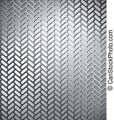 vecteur, seamless, trace, tyre.