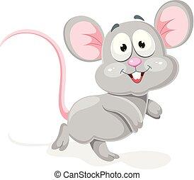 vecteur, souris, illustration
