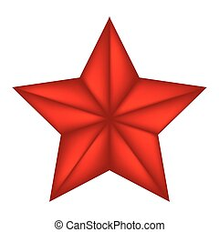 vecteur, symbole, icône, bethlehem, isolé, étoile, noël blanc, illustration, design., arrière-plan.