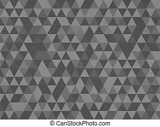 vecteur, triangle, résumé, fond