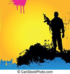 Vecto soldier