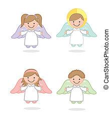 vector, ángel