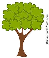vector, árbol
