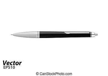 vector., 自動, ボールペン