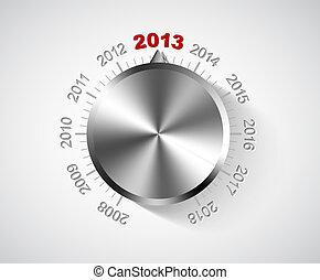 Vector 2013 New Year card