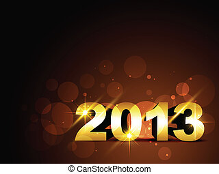 vector 2013 new year