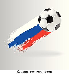 Vector 3d football isolated ball on transparent background.
