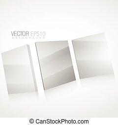3d mirror background