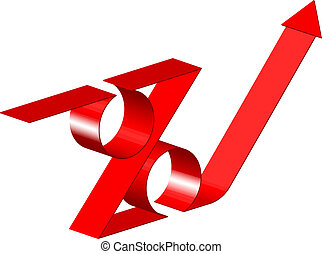 Vector 3d percent sign
